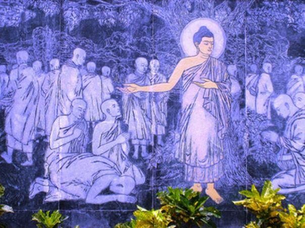Buddha and Sangha