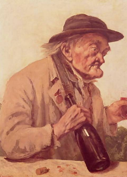 Old-Man-With-A-Glass-Of-Wine