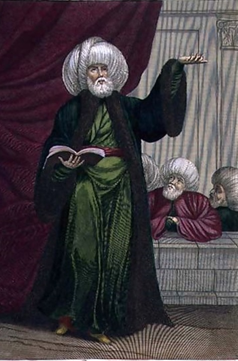 The-Mufti,-Or-Master-Of-The-Law,-18th-Century