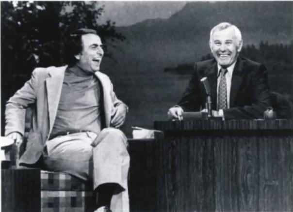 Sagan and Carson