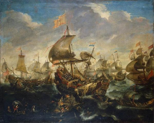 Andries_van_Eertvelt_-_Sea_Battle_-_WGA7474