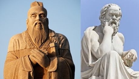 Confucius and Socrates