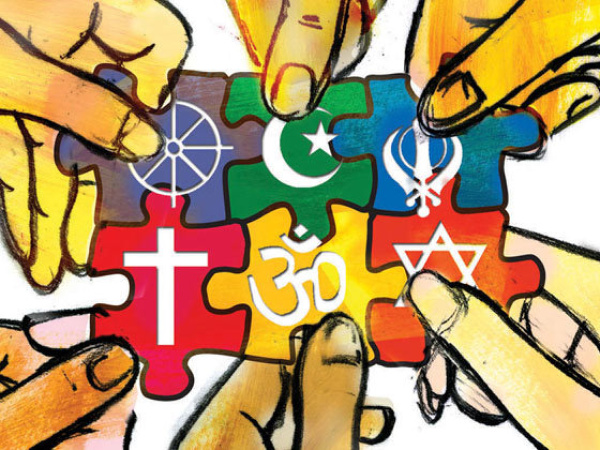 Religious tolerance illustration