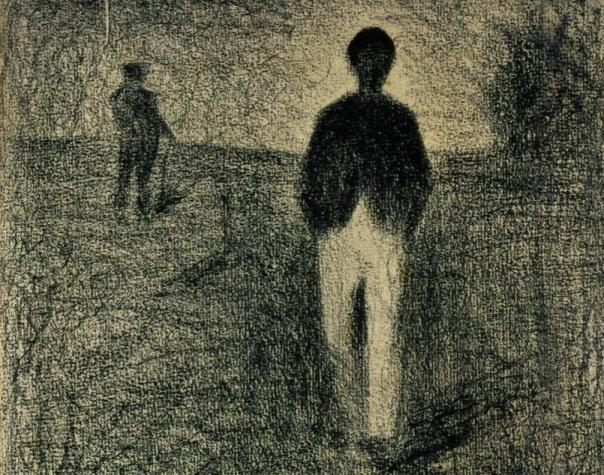 georges-pierre-seurat-two-men-walking-in-the-field1