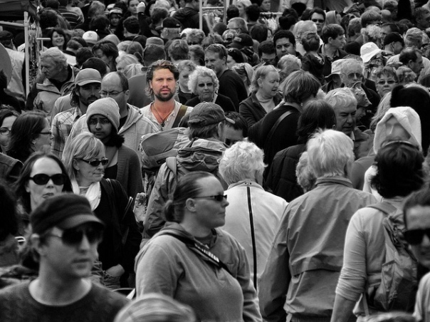 face in a crowd