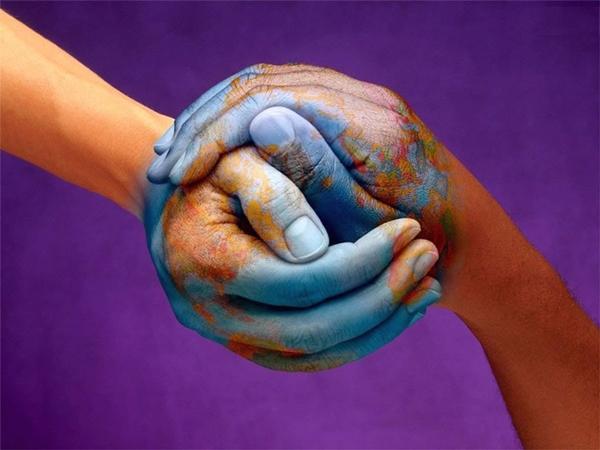 world-hand