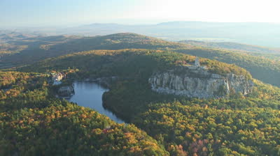 stock-footage-mohonk-mountain-house-resort-aerial-new-york-state-aerials-around-the-catskills-and-upstate-ny