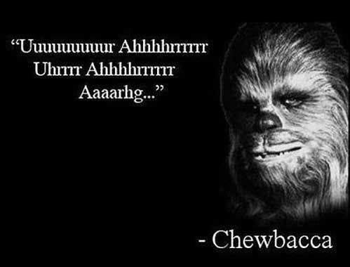 Chewie Speaks
